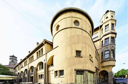 Der Baumeister der Stuttgarter Markthalle