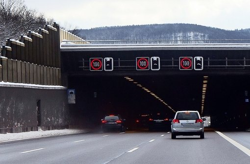 Beim Albaufstieg geht's in den Tunnel. Foto: Ines Rudel Foto: