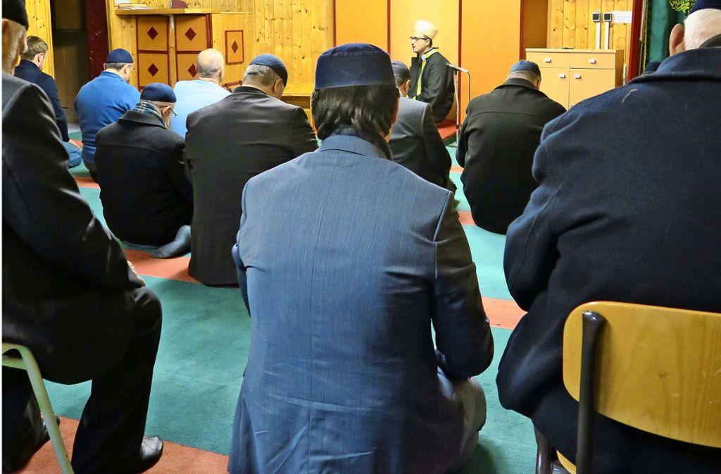 Bisher beten die örtlichen Muslime noch immer in einem Gebetsraum an der Karlsruher Straße in Echterdingen Foto: Archiv Malte Klein