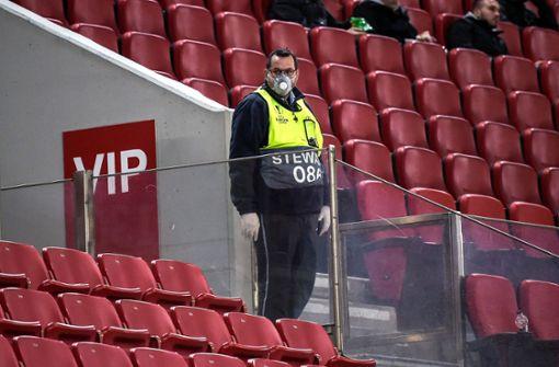 Uefa sagt vorerst alle Spiele im Europapokal ab