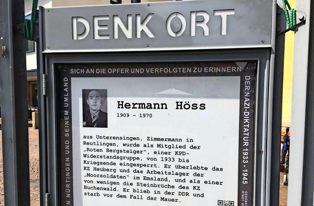 Hermann Höss erlebte den Fall der Berliner Mauer nicht mehr. Foto: