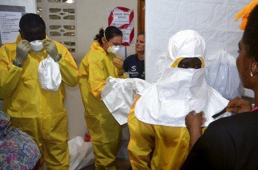 Ebola schürt Angst und Misstrauen