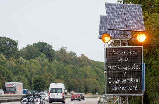 Reisewarnungen für weitere Gebiete in Europa