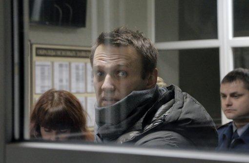 Nawalny festgenommen