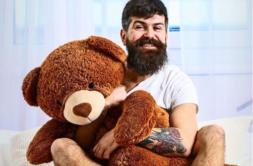 Wenn Erwachsene ihren Teddy brauchen