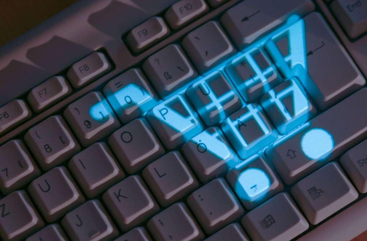 """Über die Plattform """"MyLE"""" können Kunden sich über Angebote von Händlern in Leinfelden-Echterdingen informieren und online bestellen. Foto: Symbolbild: dpa/Jens Büttner"""