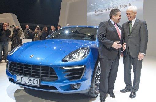 """Der """"Tiger"""" von Porsche setzt zum Sprung an"""