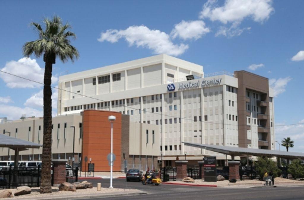 Die Arbeit des Veteranenhospitals in Phoenix ist in die Kritik geraten. Foto: Getty