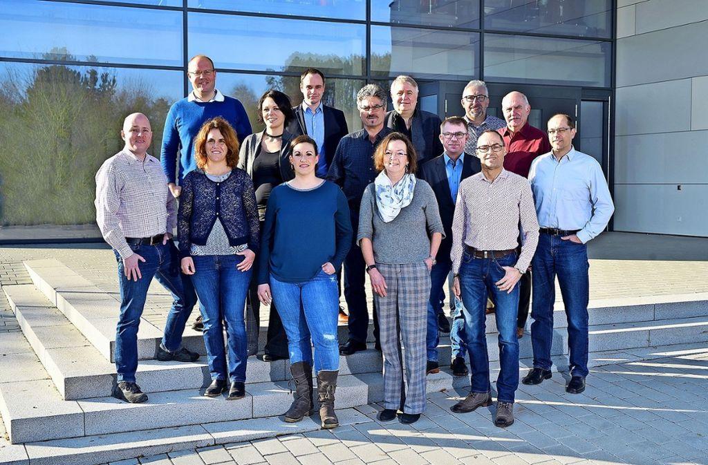 Die Kandidaten der Freien Wählervereinigung für den Gemeinderat. Foto: privat