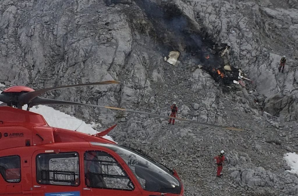 In den Tiroler Alpen ereignete sich ein tödlicher Flugzeug-Absturz. Foto: dpa