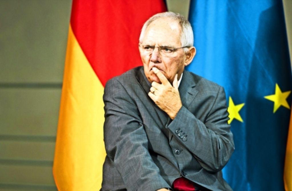 Er drückt Europa seinen Stempel auf: Finanzminister Wolfgang Schäuble. Was kann jetzt noch kommen? Seine Zukunft lässt der 72-jährige offen. Foto: Photothek