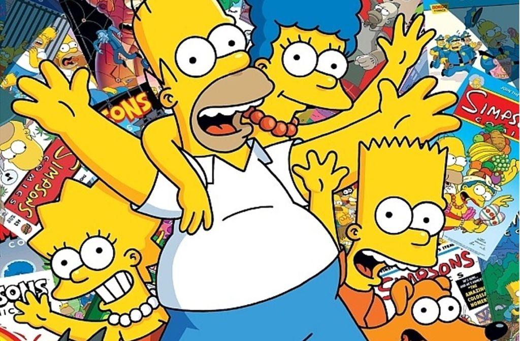 """Noch mal zum Abschied winken: Die deutsche Ausgabe des """"Simpsons""""-Comic-Heftes wird eingestellt. Foto: Panini"""
