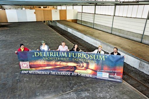 Güterhalle wird  Kunst- und Theaterbühne