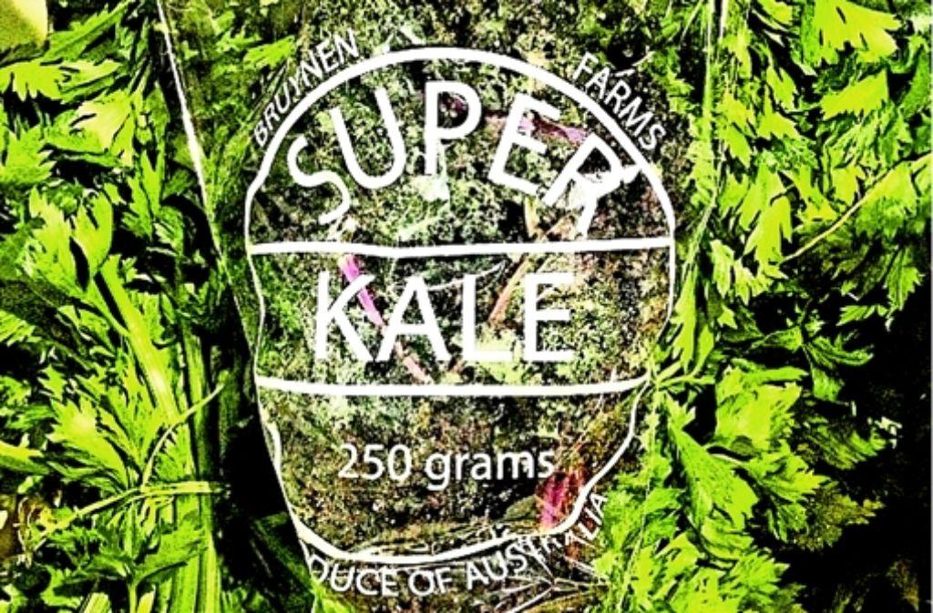 """""""Kale"""", wie das Gemüse im Englischen heißt, feiert gerade einen Siegeszug in der australischen Küche.  Foto: StZ"""