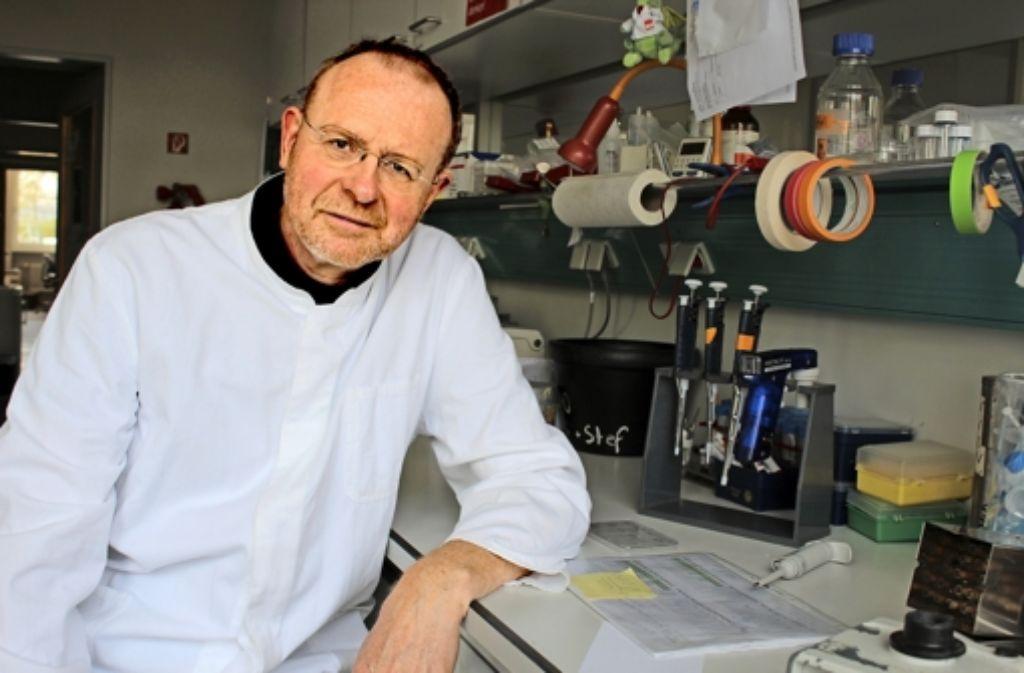 Thomas Boehm fand heraus, wie Abwehrzellen entstehen. In seinem Labor funktionierte eine künstliche Abwehrzellenfabrik. Foto: MPG