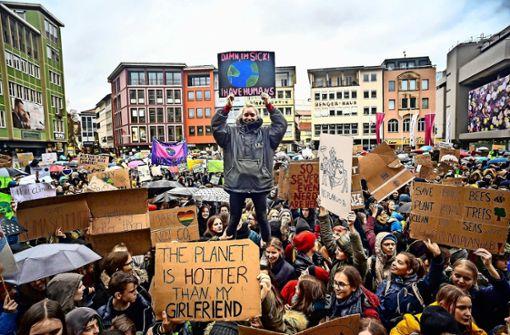 Klimaschützer und CDU auf Tuchfühlung