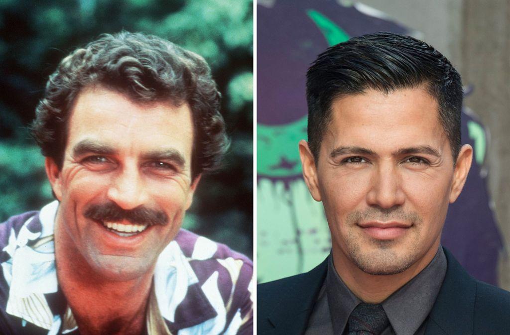 Der alte und der neue Magnum: links Tom Selleck, rechts Jay Hernandez Foto: dpa