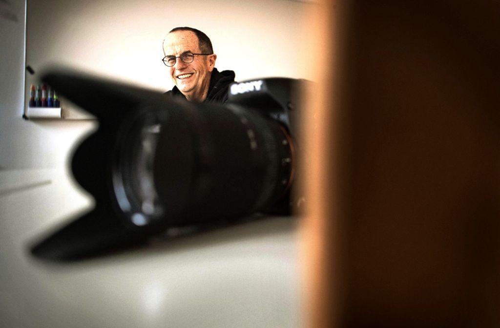 Willi Dillschneider hat Musik studiert, über Umwege kam er zum Film. Foto: Gottfried Stoppel