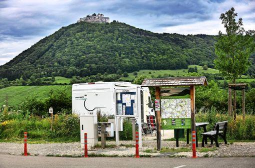 Der Kampf um Stellplätze für Wohnmobile