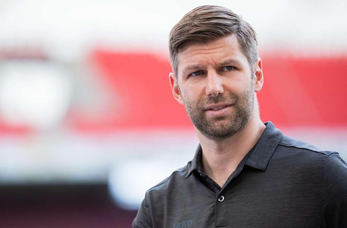 Thomas Hitzlsperger will Präsident beim VfB Stuttgart werden. Jurist und VfB-Mitglied: Lennart Laude Foto: dpa/Tom Weller