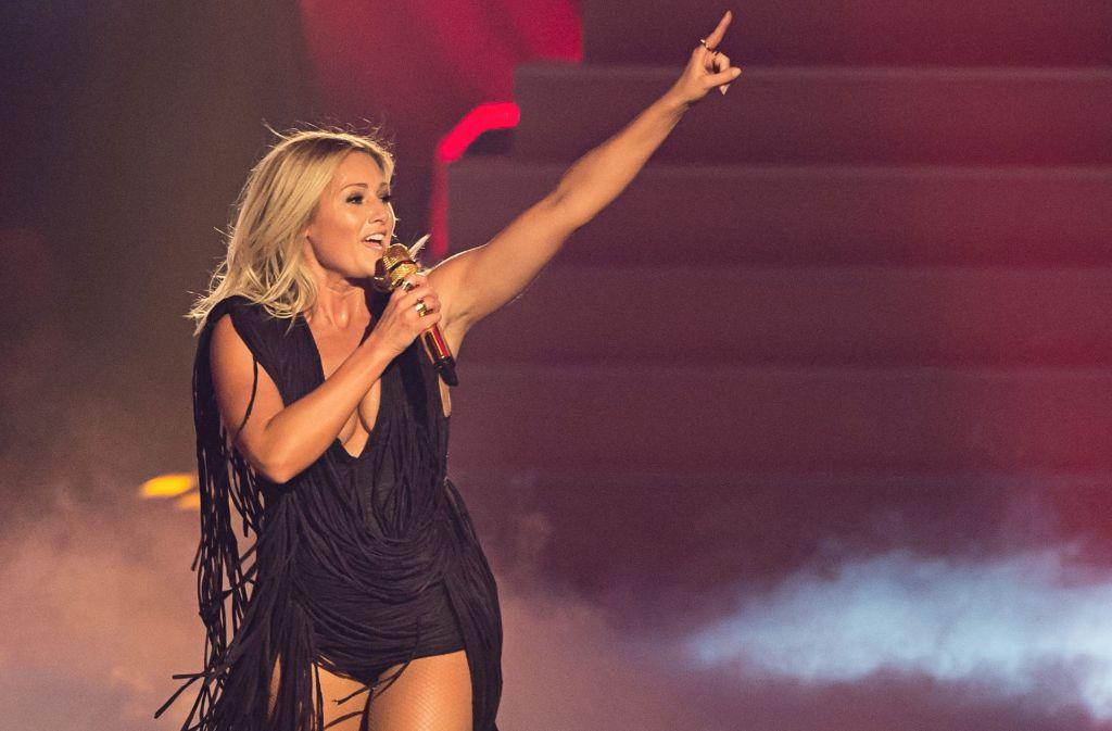 Die Schlagersängerin Helene Fischer ist ein Fan des Eurovision Song Contests. Foto: dpa