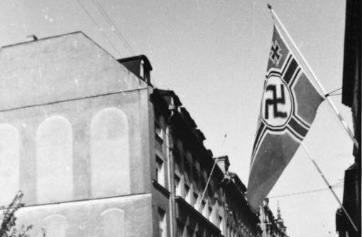 Wer gegen  Nazis Flagge zeigte, setzte keine Flagge