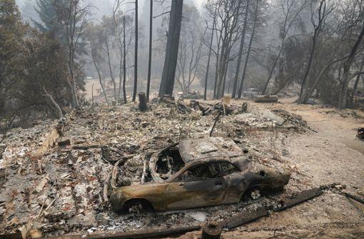 Kalifornien wird erneut zur Feuerhölle
