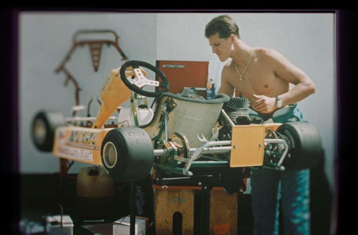 """Die Netflix-Doku """"Schumacher"""" zeichnet die Karriere von Michael Schumacher nach. Foto: dpa/Netflix/Kräling Motorsport Bild GmbH"""