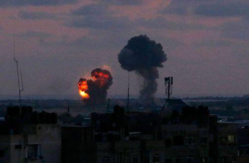 Israel unter Raketenbeschuss - Luftangriffe auf Gaza