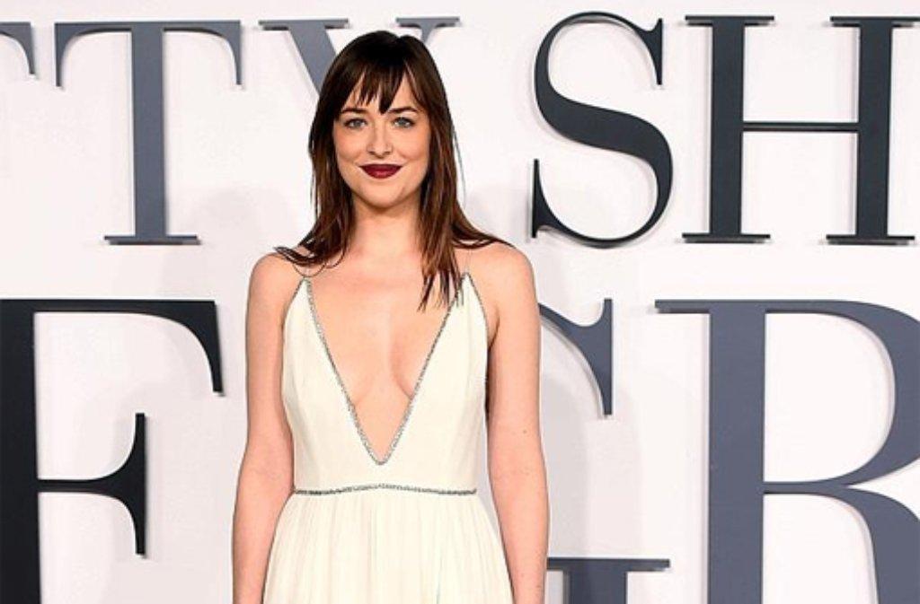 """""""Fifty Shades of Grey""""-Star Dakota Johnson wird einen Oscar überreichen, ebenso wie ... Foto: dpa"""
