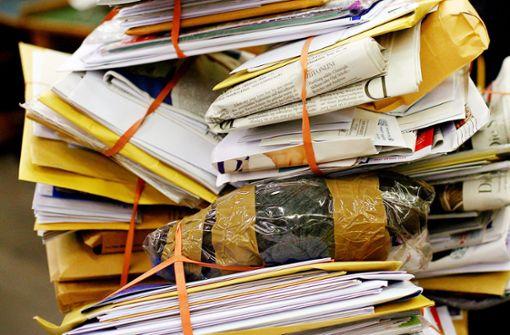 Gestohlene Post erreicht Empfänger   über zehn Jahre später