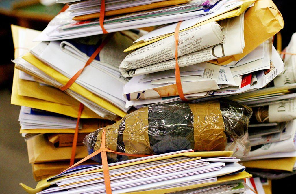 Die gestohlenen Briefe sind 13 bis 15 Jahre alt. (Symbolfoto) Foto: dpa