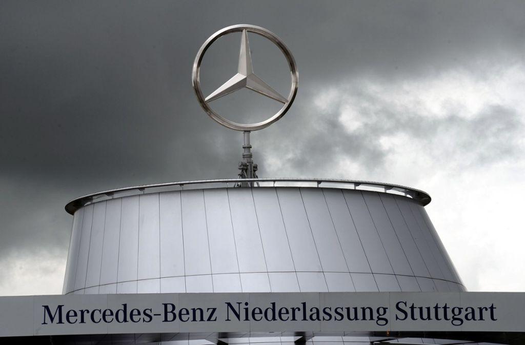 Die neuesten Verkaufszahlen bei Daimler  stimmen positiv. (Symbolbild) Foto: dpa