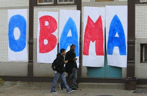 Die Außenseiter wählen Obama