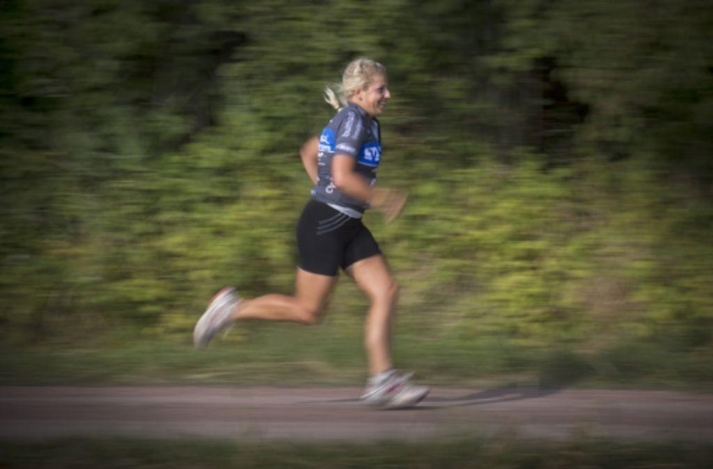 Steffi Praher rennt täglich – zwei bis acht Stunden. Foto: privat