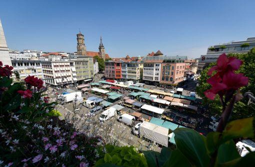 Bäume könnten Hitzestress auf dem Marktplatz abbauen
