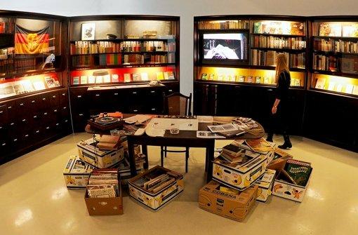 Installation des Künstlers Simon Fujiwara Foto: dpa