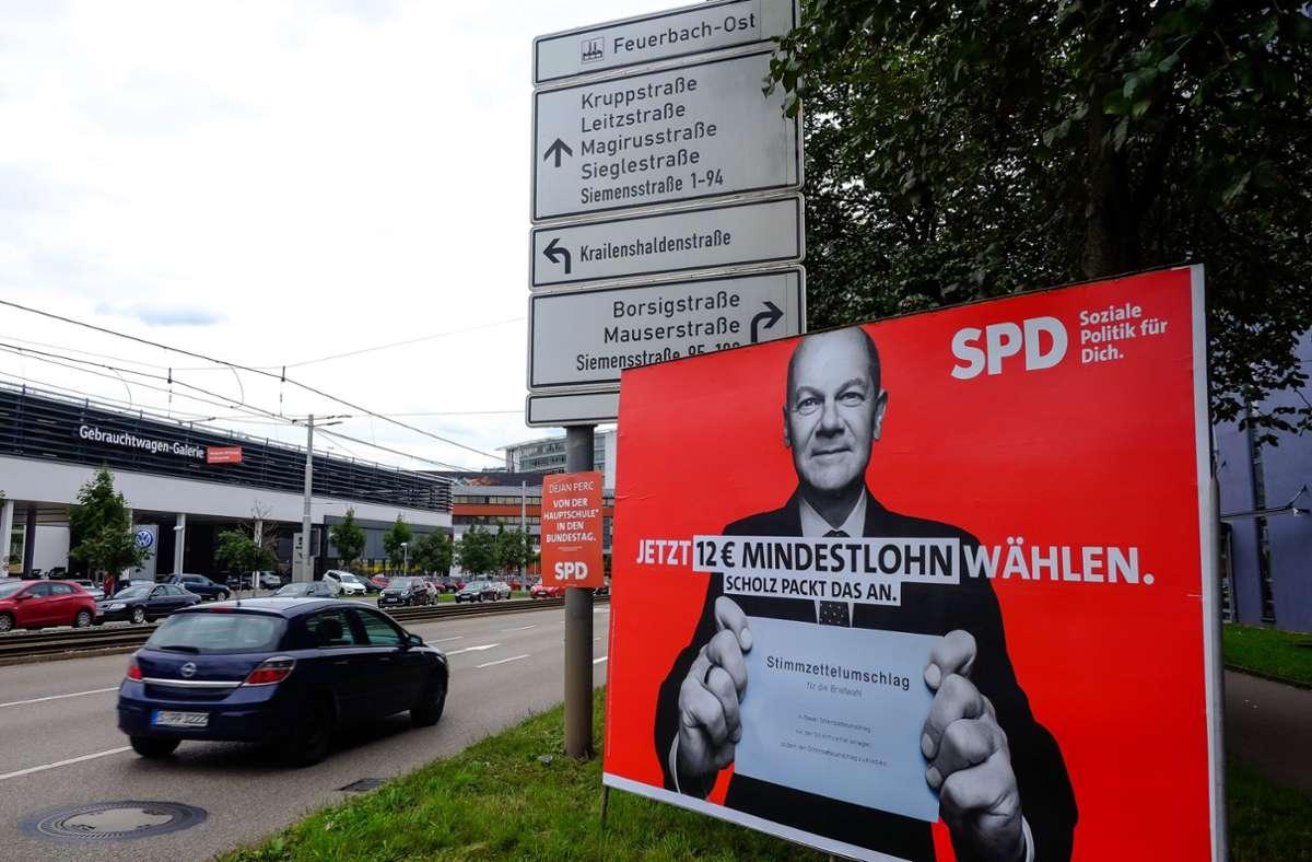 Im Wahlkampf hat die SPD ihren Wählerinnen und Wählern noch eine Erhöhung des Mindestlohns versprochen. Foto: Lichtgut/Max Kovalenko