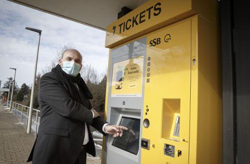 Neue Automaten der SSB in Betrieb