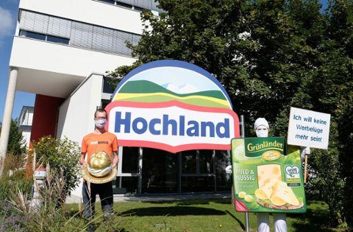 """Hochland für Käse aus """"Milch von Freilaufkühen""""  ausgezeichnet"""