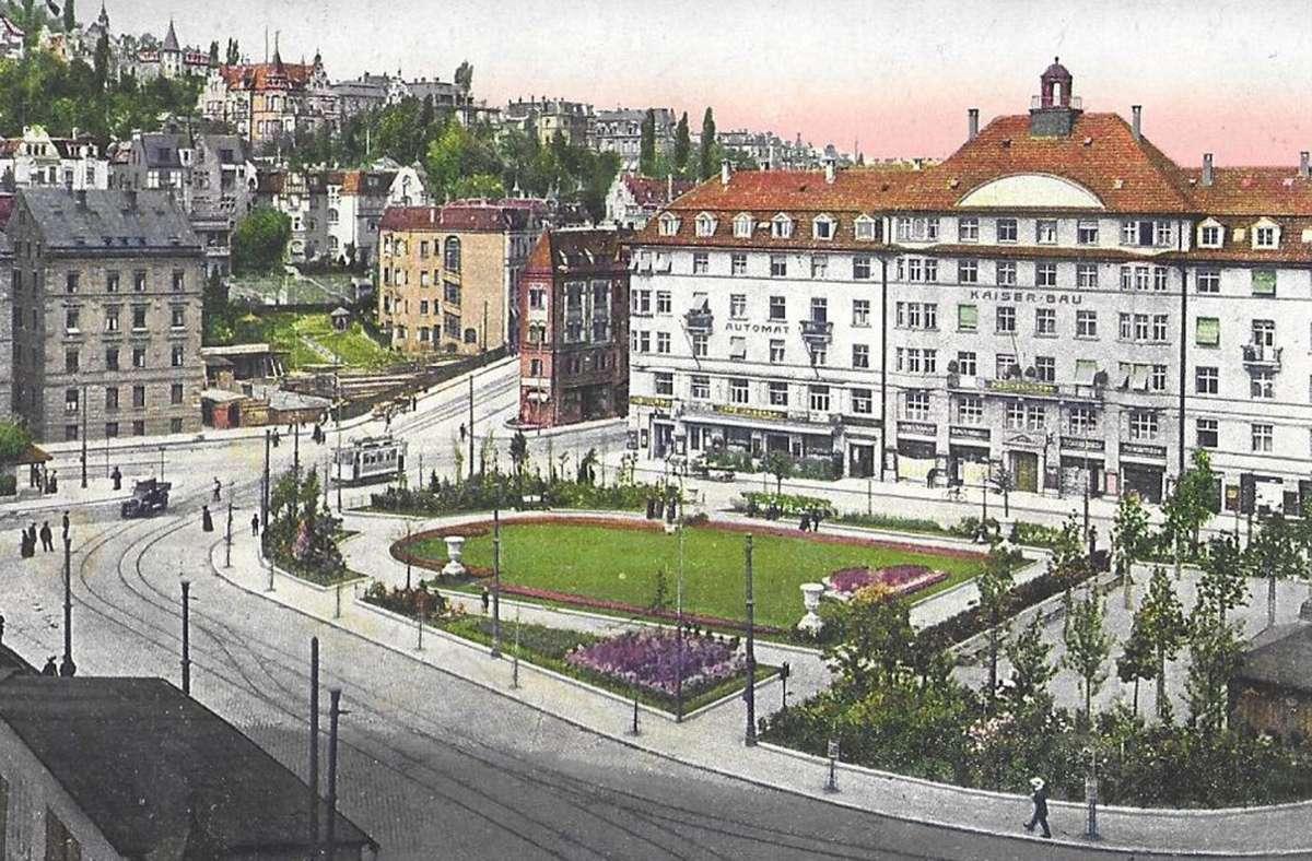 So sah der Marienplatz vor über 100 Jahren aus. Foto: Sammlung Wibke Wieczorek
