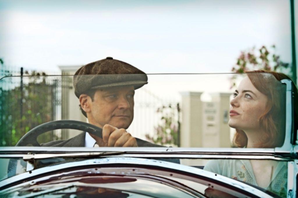 Stanley (Colin Firth) traut der bezaubernden Sophie (Emma Stone) nicht so recht. Foto: Verleih