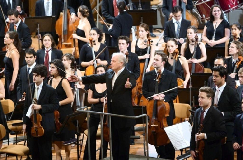 Applaus für das West-Eastern Divan Orchestra u Foto: Musikfest