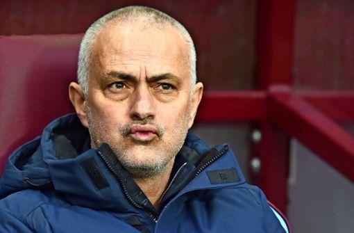 Warum sich José Mourinho  ins Tor stellt