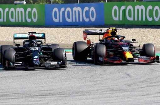 Mercedes und Red Bull auf Kollisionskurs