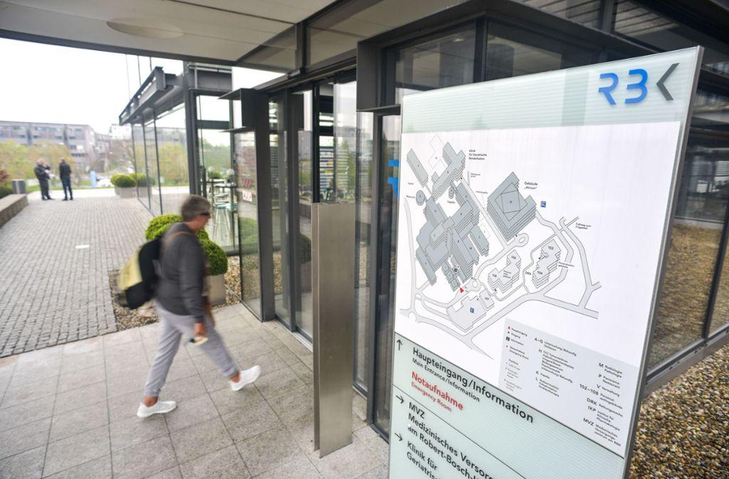 Im Robert-Bosch-Krankenhaus wurden zwei Patienten aus China untersucht. Foto: Lichtgut/Max Kovalenko
