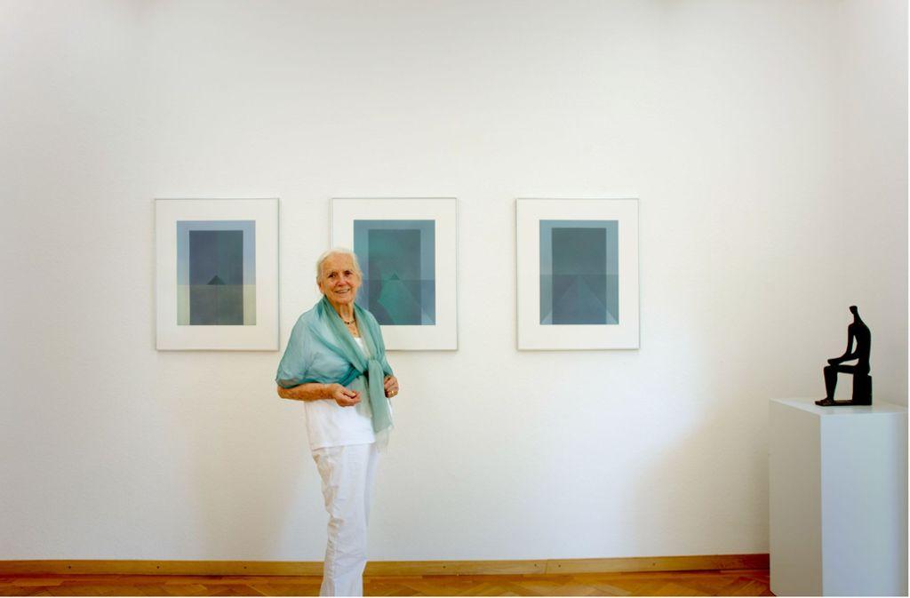Hildegard Ruoff Foto: Cyril Harnischmacher