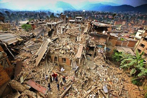 Nepal versinkt im Chaos