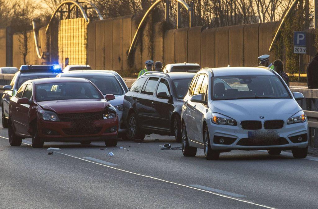 Viele Unfälle gab es am Donnerstag auf der B29 Foto: 7aktuell.de/Simon Adomat