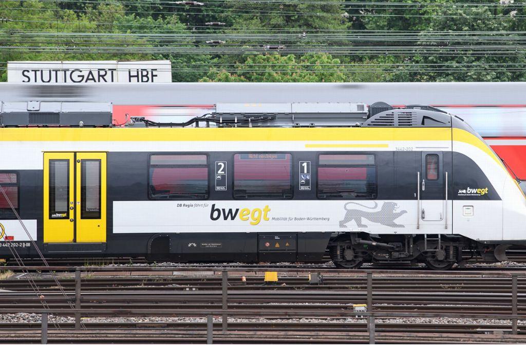 Einen Regionalzug nach Leonberg oder Weil der Stadt gibt es nicht. Foto: dpa
